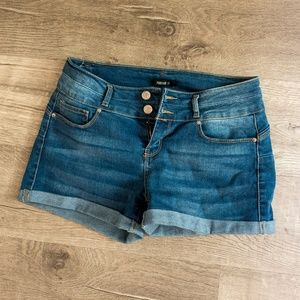 Soft denim shorts NWOT